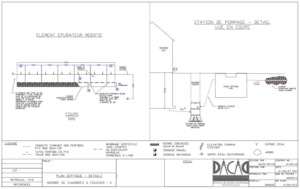renseignements pour l 39 installation et le remplacement de votre fosse septique. Black Bedroom Furniture Sets. Home Design Ideas