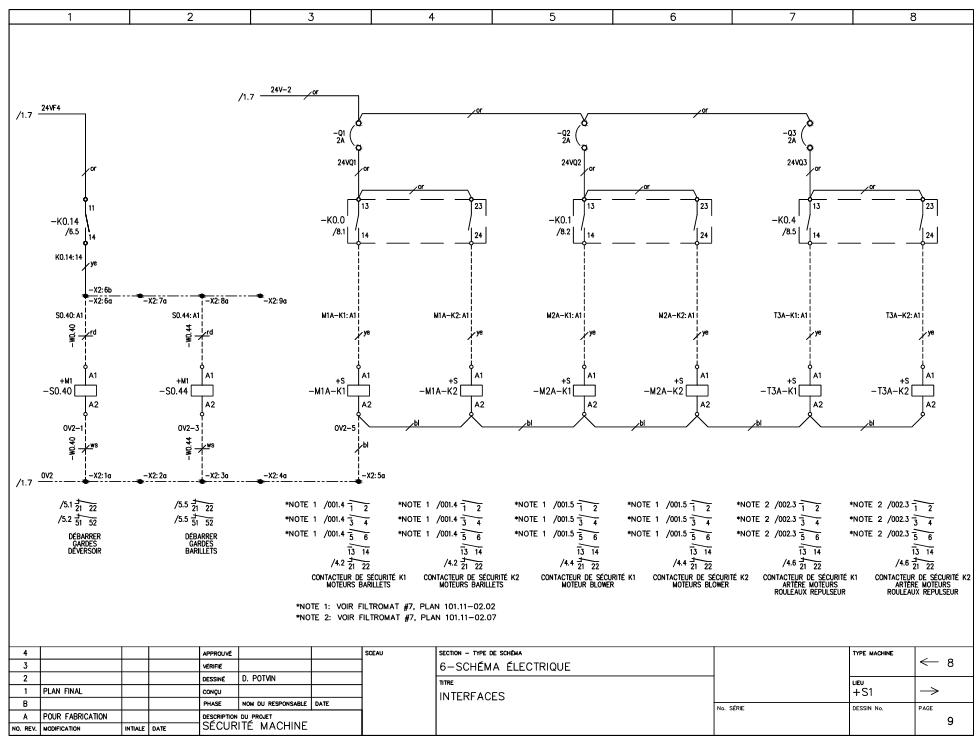 Schéma électrique P.9